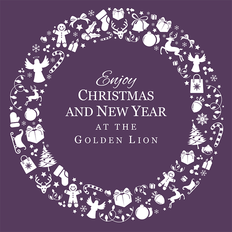 Christmas Party Venue in Wrexham at the Golden Lion